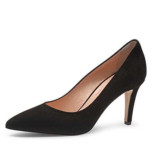 Pump Punta con Shoes negro Mujer Cerrada Tacón para Negro Zapatos de Evita pCR4q5wx5