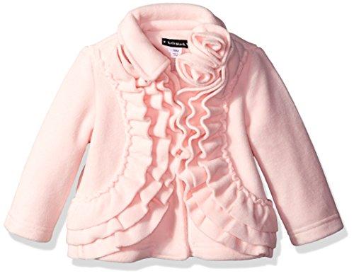 kate-mack-baby-girls-polar-fleece-coat-with-ruffle-pink-12-months