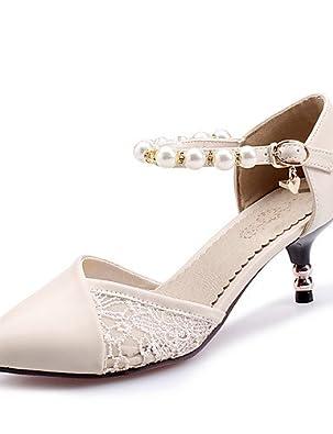 ZQ YYZ Zapatos de mujer-Tac¨®n Bajo-Comfort / Punta Cerrada-Planos-Oficina y Trabajo / Vestido / Casual-Semicuero-Multicolor , pink-us6 / eu36 / uk4 / cn36 , pink-us6 / eu36 / uk4 / cn36