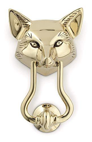 (Jefferson Brass Fox Door Knocker)