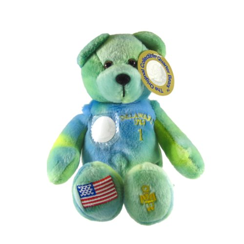 Toys State Quarter Bear Timeless - Delaware State Quarter Bear Collectible Stuffed Bear by Timeless Toys