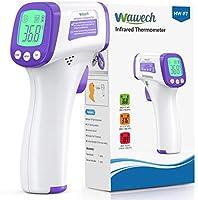 Wawech Termometro febbre infrarossi 2 in 1 Termometro frontale professionale a distanza 5-8CM Termometro digitale febbre...
