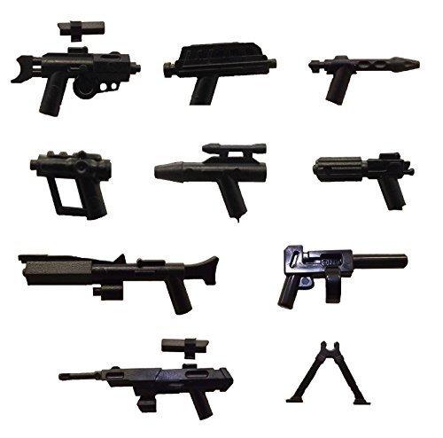 LEGO / Little Arms Star Wars - 9-Piece Set, Sniper, Blaster, Pistol