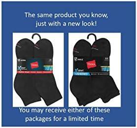 Hanes Mens FreshIQ Odor Control Active Cool Ankle Socks