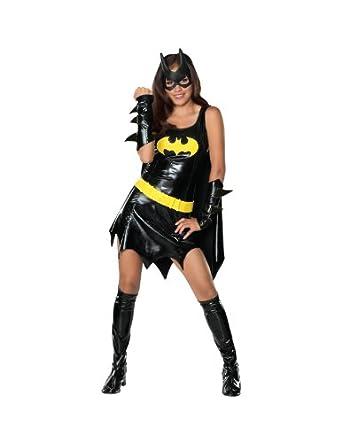Batman Teen Batgirl Costume Black Teen  sc 1 st  Amazon.com & Amazon.com: Batman Teen Batgirl Costume Black Teen: Clothing