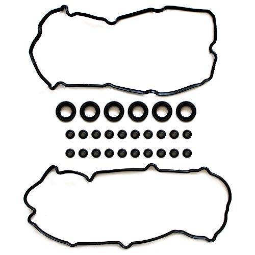 cciyu Valve Cover Gasket Kit Replacement fit for 1995-1999 Infiniti I30 Nissan Maxima 3.0L