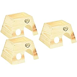 Super Pet Woodland Get-A-Way Medium House (3 Pack)