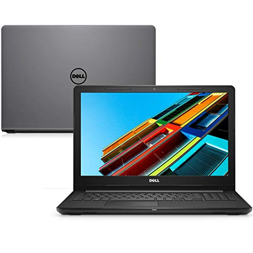 "Notebook Dell Inspiron 15 3000, i15-3576-A70C, 8ª Geração Intel Core i7-8550U, 8 GB RAM, HD 2TB, AMD Radeon 520 2GB GDDR5, Tela 15.6"" LED HD, Windows 10, Cinza"