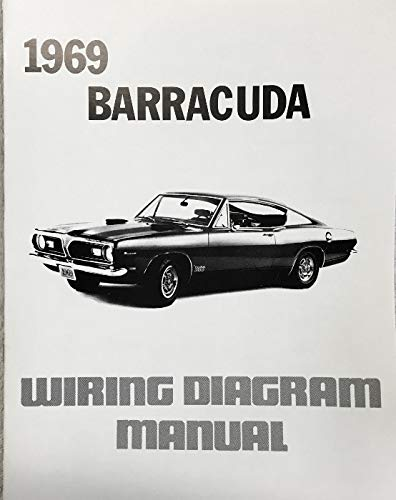 1969 Plymouth Barracuda Factory Electrical Wiring Diagrams Schematics Plymouth Chrysler Amazon Com Books