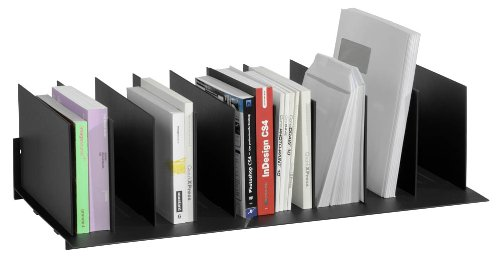 Fast Paper Easy Office Individual Vertical Organiser - Black