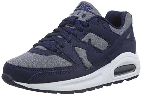 Max weiß Flex Bambini Scarpe Unisex Command – Da blau blau Ginnastica Nike Basse Blu Air f4x655