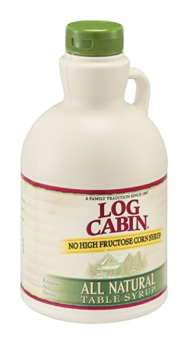 Log Cabin Table Syrup All Natural 22FZ (Pack of 24) by Log Cabin