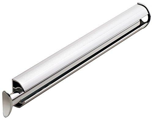 Hafele 11 3/4 inch Synergy Elite Closet Valet Rod (Polished Chrome) ()
