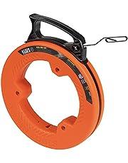Klein Tools Fita de peixe 56331, extrator de fio de aço com ponta de laço duplo, invólucro e alça otimizados, 0,3 cm x 1,5 m