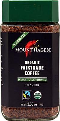 Mount Hagen Organic Fair Trade Instant Coffee Decaffeinated -- 3.53 oz - 2 pc