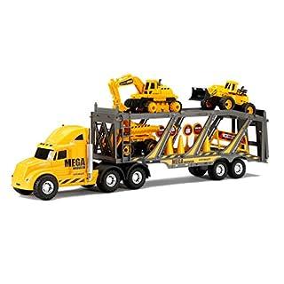 "New Bright 22"" Free Wheel Mega Construction Hauler Set, Model Number: 1333NB"