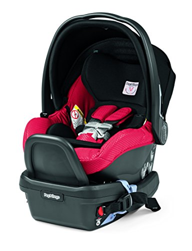 Peg Perego Primo Viaggio 4/35 Infant Car Seat with base, Mod Red
