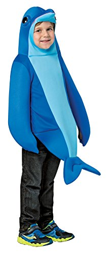 Boy's Dolphin Outfit Funny Theme Party Fancy Dress Child Halloween Costume, Child S (4-6X) -