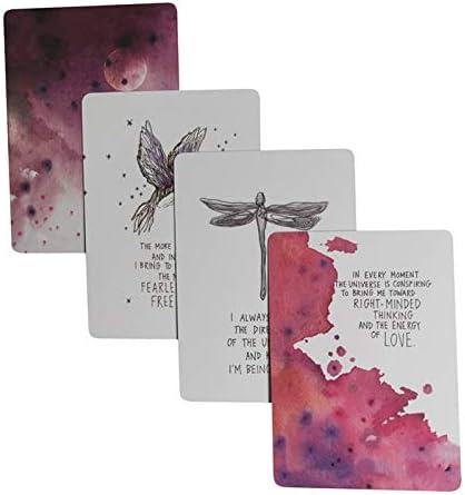 Juego de cartas oráculas del universo inglés completo de cartas misteriosas de tarot – Divinación Fate Board juego de 52 tarjetas/set Doreen Virtue Oracle Cards: Amazon.es: Oficina y papelería