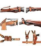 Premium Leather Vertical Shoulder Holster System