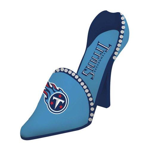 Tennessee Titans Team Shoe Wine Bottle Holder - Light Blue