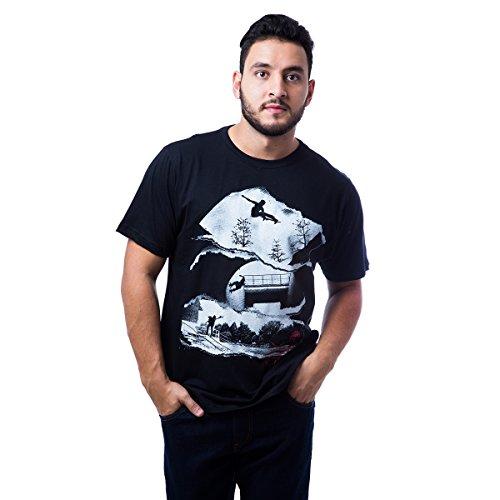 Camiseta Basica Rail 150 - Preto - G