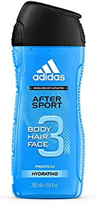 esponja Beca crema  Adidas After Sport Body, Hair & Face Protein Hydrating Shower Gel, 250 ml:  Buy Online at Best Price in UAE - Amazon.ae