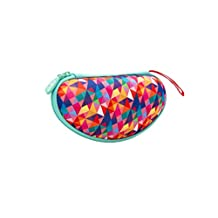 Zipit Colorz estuche para anteojos, Azul, funda para gafas, colorido (Colorful Triangles)