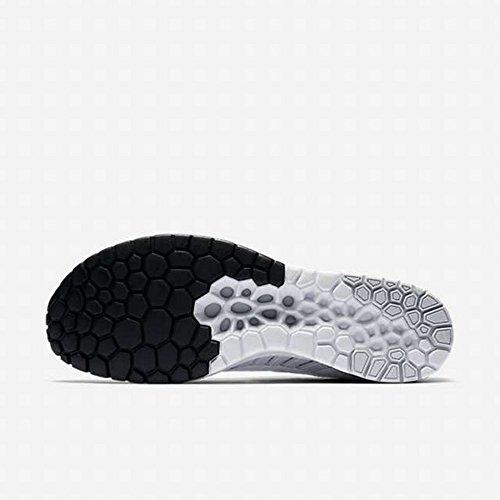 Nike Unisex Flyknit Streak Running Scarpa Platino Puro / Bianco-nero