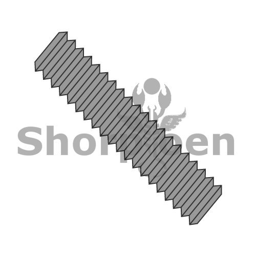 ASTM A193 ASME B16.5 B-7 B7 Stud Continuous Thread Plain 7/8-9 x 5 1/2 BC-8788B7 (Box of 40) weight 31.28 Lbs by Shorpioen