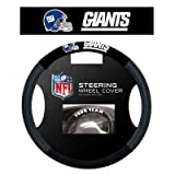 NFL Poly-Suede Steering Wheel Cover NFL Team: New York Giants