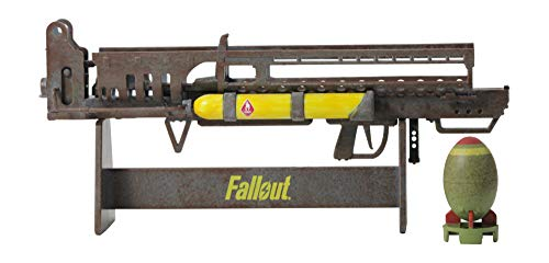 Fallout 4 Fatman Replica Figure with Mini Nuke and Stand
