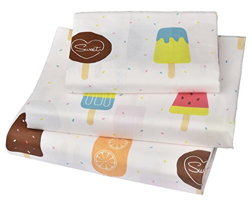 Cartoon Popsicle 3 Pieces Bedding Pillowcase product image
