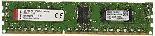 (Kingston Technology ValueRAM 4GB 1600MHz DDR3 PC3-12800 ECC Reg CL11 DIMM SR x8 with TS Server Memory KVR16R11S8/4)
