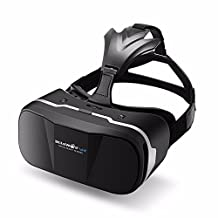 BlitzWolf VR Headset 3D Viewer Glasses Virtual Reality Box Google Cardboard Upgraded Version Movies Games Helmet for Up to 6.3 inch iPhone Samsung LG SONY Moto Nexus