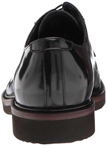 Steve Madden Mens Drama Oxford Svart Läder
