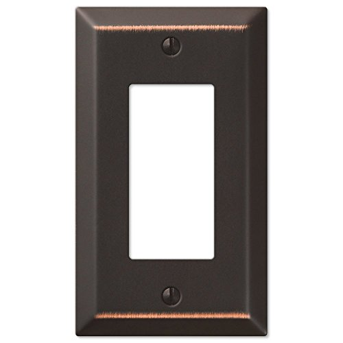 Traditional Design Wall Switch Plates and Outlet Cover Oil Rubbed - Outlets Bronze