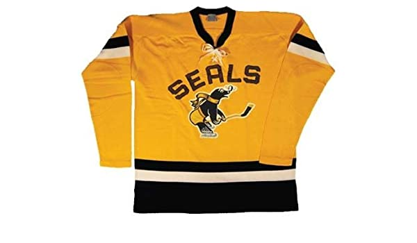 1c8d25d47 1962 San Francisco Seals Authentic Hockey Jersey from Ebbets Field Flannels