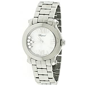 Chopard Happy Sport analog-quartz womens Watch 27/8509-3002 (Certified Pre-owned)