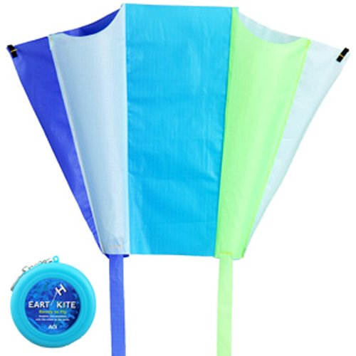 Earth Light Blue Kite