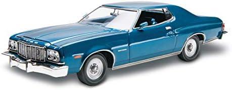 Revell 14412 76 Ford Gran Torino detailgetreuer Modellbausatz, Autobausatz 1:25, Mehrfarbig