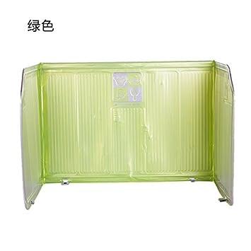 UWSZZ Estufa de gas de cocina de una placa deflectora de aceite de aluminio lámina de