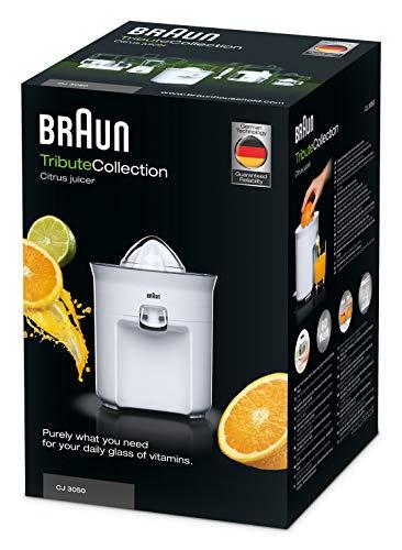 Braun CJ 3050 Spremiagrumi, 60 W, 0.35 Litri, Plastica, Bianco 7