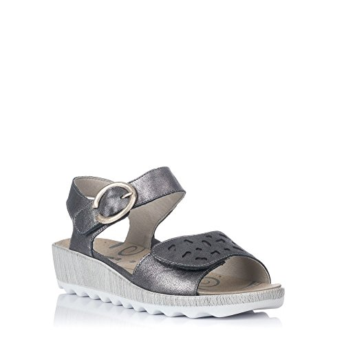 Cheville 02 Gina ROMIKA Femme Cheville Bride Gina Gris Anthrazit Bride 02 Femme Sandales ROMIKA Sandales fqBwC4w