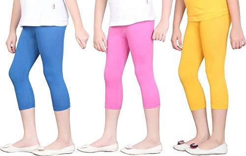 bf085d7296f16e Net Capri Leggings Combo Set for Womens   3/4 Leggings Black, White ...