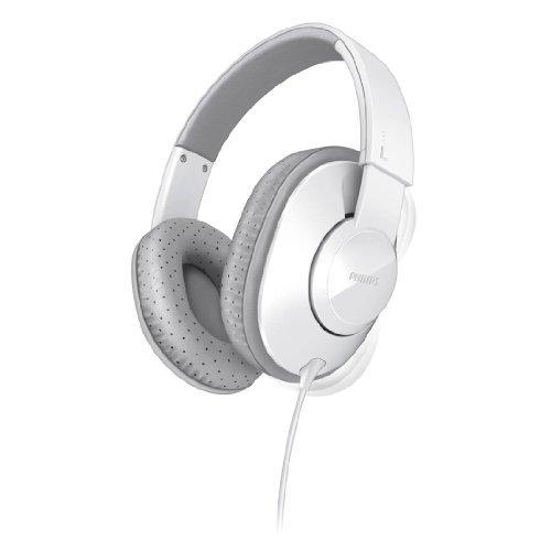 Philips SHL4500WT Frame Headphones for Dynamic Bass 40 mm Neodymium Speaker Drivers ()