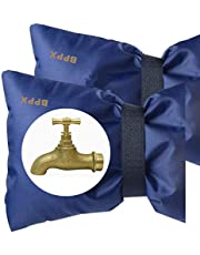 2 Pcs Large Waterproof Tap Covers for Outside Taps, Protect Outdoor Water Taps From Frost