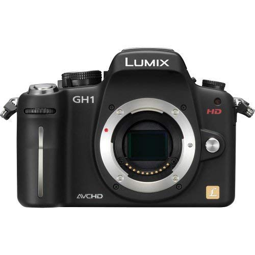 Panasonic Panasonic Lumix DMC-GH1K-Body 12.1 Megapixel Interchangeable Lens Digital Camera Body Only, Lumix G Micro System, Black (Panasonic Camera Av Cable)