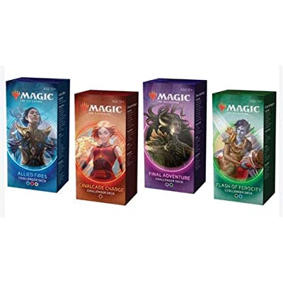 Magic the Gathering MTG 2020 Challenger Set of All 4 Decks: Toys & Games