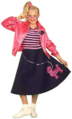 Poodle Teen Skirt Costumes (Forum Novelties Children's Costume Teenz - Poodle Skirt Set (Ages 14 to 18))